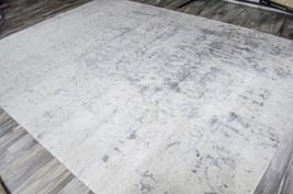 "9x12 (8'6"" x 11'6"") Nourison Silk Shadows Modern Silver Gray Grey Area Rug - $5,249.00"