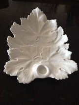 white leaf serving dish - $49.99
