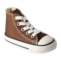 Converse Toddler's/Infant's Chuck Taylor Fashion Sneakers Chocolate Brow... - $23.51