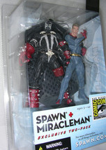 McFarlane Toys Spawn Miracleman Figure 2 Pack 2003 San Diego Comic Con Exclusive image 3