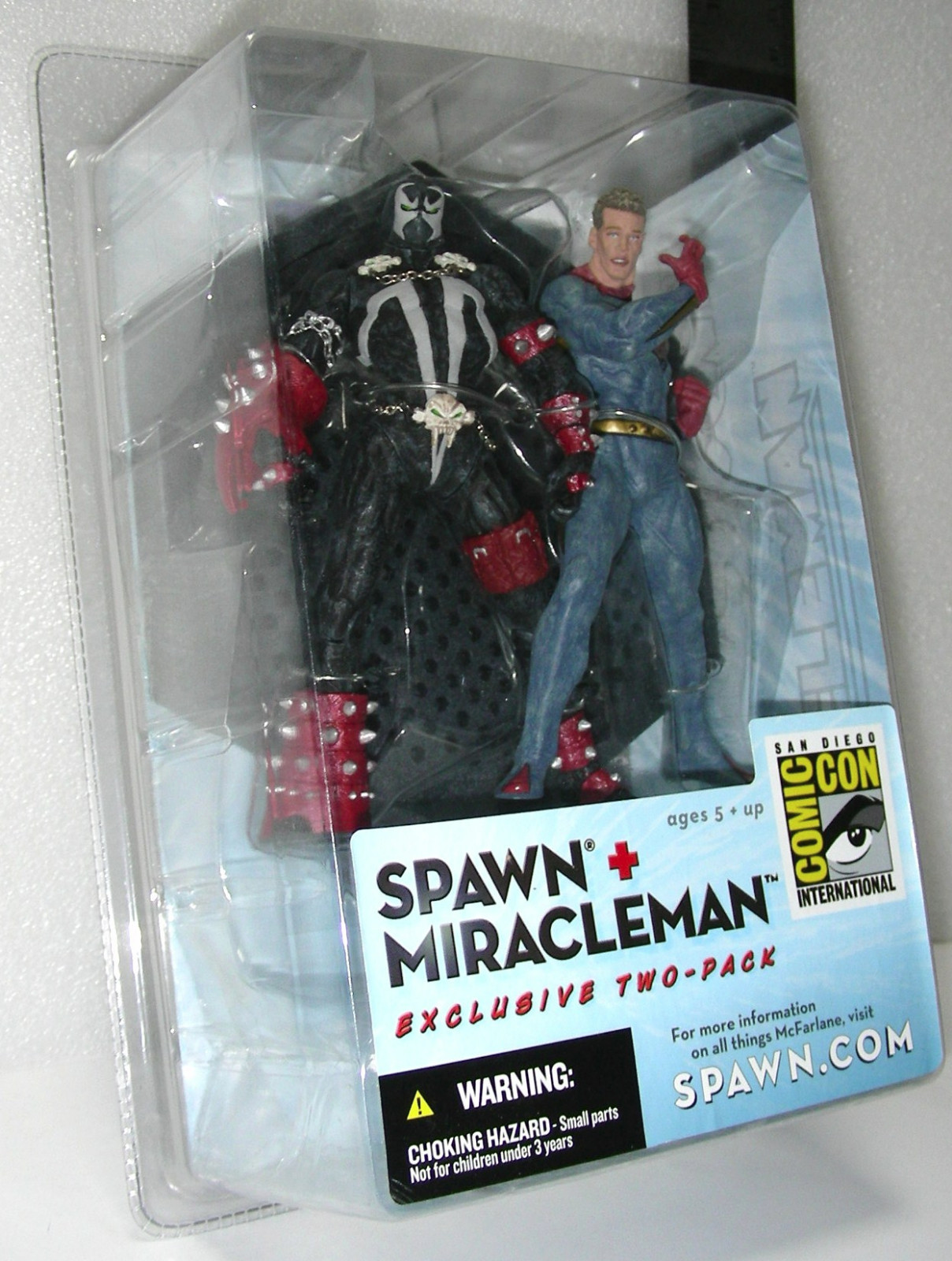 McFarlane Toys Spawn Miracleman Figure 2 Pack 2003 San Diego Comic Con Exclusive image 4