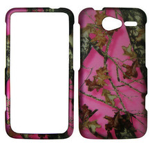 Pink camo leaves hunter for  Motorola Electrify M XT901  Feel Case Cover - $8.54