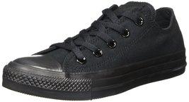 Converse Mens Chuck Taylor Core Ox Fashion Sneaker Black Monochrome 5.5 ... - $47.47