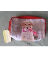 Modella Clutch Bag or Cosmetic Purse Yellow Lab Puppy NWT - $9.99