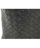 BOTTEGA VENETA Intrecciato Cabas MM Leather Black Tote Bag Authentic 540... - $1,991.82