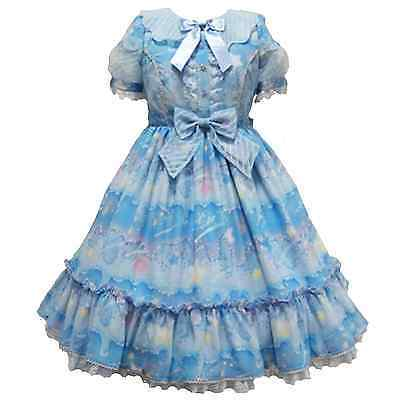 Angelic Pretty Melty Sky OP Dress Sweet Lolita Japanese Fashion Kawaii Harajuku