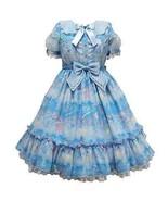 Angelic Pretty Melty Sky OP Dress Sweet Lolita Japanese Fashion Kawaii H... - $369.00