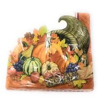 Lets Celebrate Fall Harvest Thanksgiving Dinner Napkin Bundle - $19.79