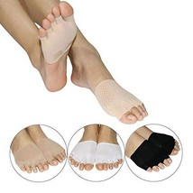 Toe Socks for Women Clogs No Show,Non-Slip Toe Toppers Socks Half Socks ... - $12.56