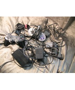 Lot of BROKEN Video Game Stuff for Parts, SNES, NES, N64, PS2 - $15.00