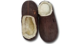 Furry Plush Adult Shoes Slippers – Brown color – 28cm - €8,78 EUR