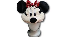 Cute Kawaii Anime Hat Rave Beanie Furry Plush Cosplay Mickey Mouse - Minnie - €8,42 EUR