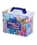 Lock & Lock 271-Ounce BPA Free Cosmetic Case Container, 33.3-Cup - $1.082,28 MXN