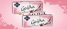 2 Boxes of Fazer Geisha Milk Chocolate with Hazelnut Filling 700g 25 Oz Finland - $43.54