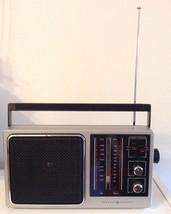 General Electric AM/FM Transistor Radio Model 7-2857A - $20.78