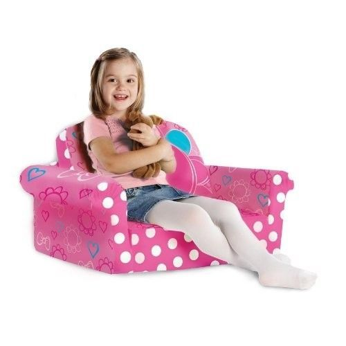 Baby Sofa Bed : ... Sofa Bed Minnies Bow-Tique Toddler Childrens Furniture - Sofas