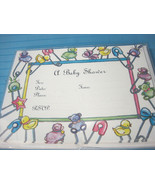 A Baby Shower Invitations 10 Cards & Envelopes Boy or Girl by Coloriginals - $6.24