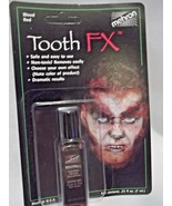 Tooth Blood Red Tooth FX Mehron Paint for Theatrical Use on Teeth - $6.92