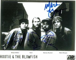 HOOTIE AND THE BLOWFISH SIGNED AUTOGRAPHED RP PHOTO BY4 - $13.99