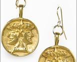Janus gold earrings thumb155 crop