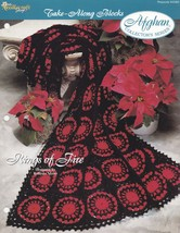 Rings of Fire, The Needlecraft Shop Afghan Crochet Pattern Leaflet 94205... - $1.95