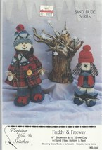 Craft Pattern Keeping You in Stitches-Freddy & ... - $5.86