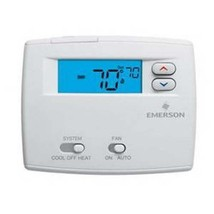 Emerson Blue Non-Programmable Single Stage Thermostat - 1F86-0244 - $47.19