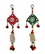 Set of Two Handmade Kauri Bunch wall Hanging Stringed decorative ornament - $10.10