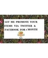 Booth Panel Rental & Promote Your Items 1 Month Twitter Facebook 60+ Tweets  - $16.00