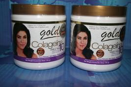 2 COLAGEINA 10 GOLD, colageina10 ,te chino dr ming, livariz, shampoo cre... - $43.50