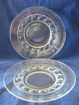 """4 Kings Crown  8 1/8"""" Clear Plates Great Condition - $19.95"""