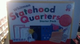 Whitman Statehood Quarters Starter Pack 1999-2001 Folder Stickers Map Ch... - $10.40