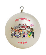Personalized Super Smash Bros Christmas Ornament Gift - $16.95