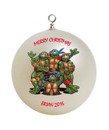 Personalized Teenage Mutant Ninja Turtles Christmas Ornament Gift - $24.95
