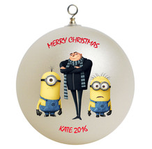 Despicable me minion and gru christmas ornament thumb200