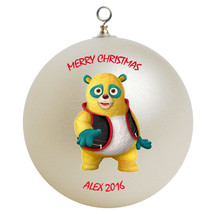 Personalized Special Agent Oso Christmas Ornament Gift - $24.95