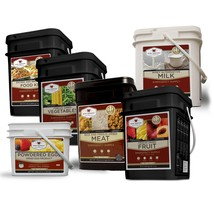 1 Month Emergency Food Supply, 6 buckets, 764 S... - $739.00