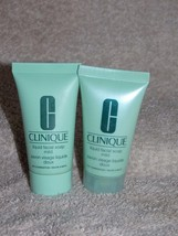 2 Clinique Step 1 LIQUID FACIAL Mild Soap Dry C... - $9.89