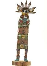 "10"" Native American Hopi Carved Salako Taka Kachina Sculpture Lynn Kee Y... - $288.00"