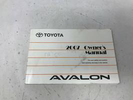 2007 Toyota Avalon Owners Manual Handbook OEM Z0A0422 - $39.59