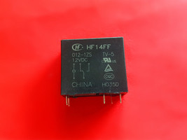 Hf14 Ff, 012 1 Zs, 12 Vdc Relay, Hong Fa Brand New!! - $5.94