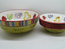 Noble Excellence Salad 101 Bowl Set 5 Pieces - $48.02