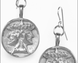 Silver janus earrings thumb155 crop