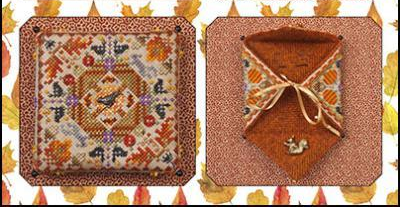 Autumn In The Meadow chart w/embellishments cross stitch chart Just Nan