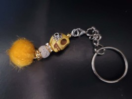 Day of the dead skull keychain with essential oil blend - $15.00