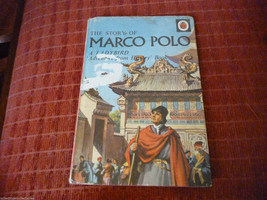 Vintage 1962  Lady Bird Book The Story Of Marco Polo Series 561 - $7.70