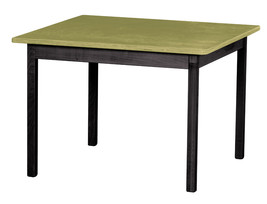 Children's Play Table   Green & Black Amish Handmade Wood Toy Furniture Usa Made - $147.35