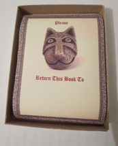 Gargoyle Cathedral Cat Bookplate Box Set of 20  by Borealis Press Inc. S... - $17.53