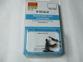 Micro-Trains Stock #00102025 Passenger Car Couplers Black for 1017 & 1018 Truck image 4