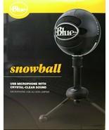 Blue - 988-000069 - Snowball USB Microphone - Gloss Black - $98.95